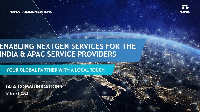 Enabling Next-Gen Services for India & APAC Service Providers