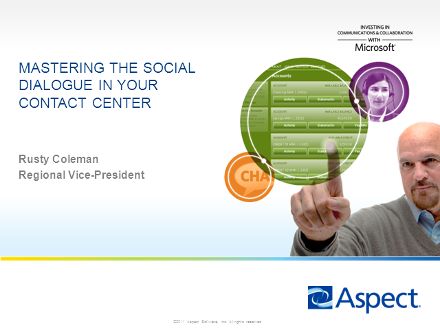 Mastering the Social Dialogue in Your Contact Center