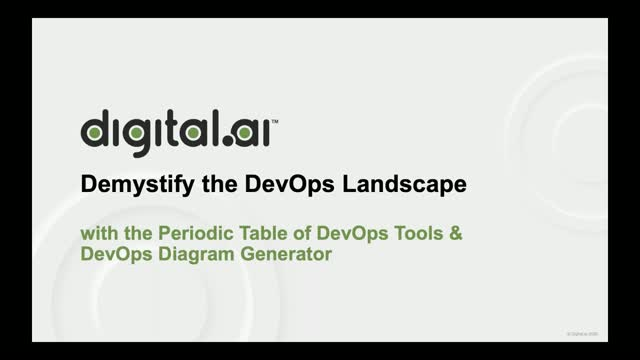 Demystify the DevOps Landscape with the Periodic Table of DevOps Tools & DevOps