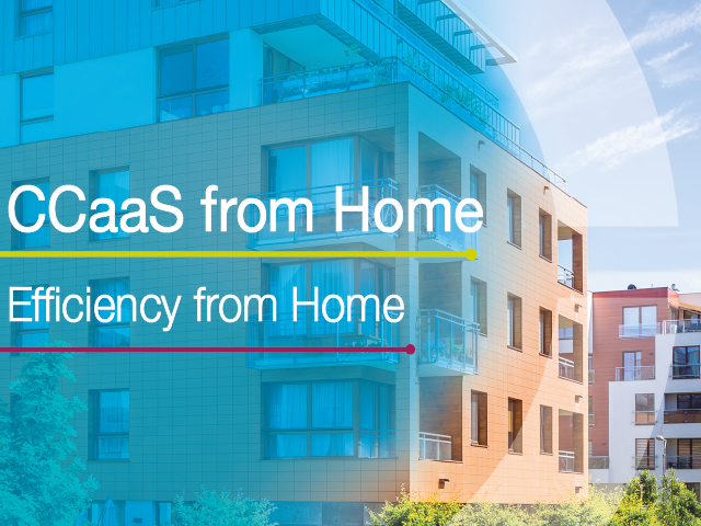 CCaaS from Home: Efficiency From Home