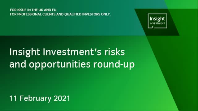 Monthly Investment Risks and Opportunities Round-Up