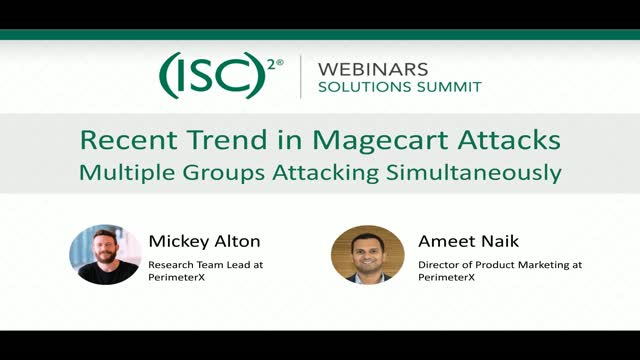 January 2020 Summit #2: New Trends in Magecart Attacks