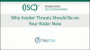 April 2020 Summit #1: Why Insider Threats Should be on your Radar Now