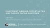 Q2 investment webinar: the opportunities and threats facing investors