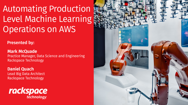 Automating Production Level ML Operations on AWS
