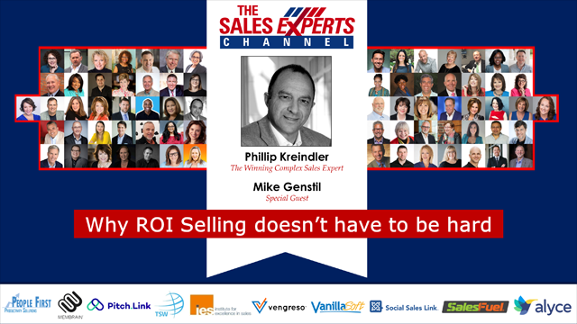 Why ROI Selling doesn't have to be hard
