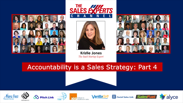 Accountability is a Sales Strategy: Part 4