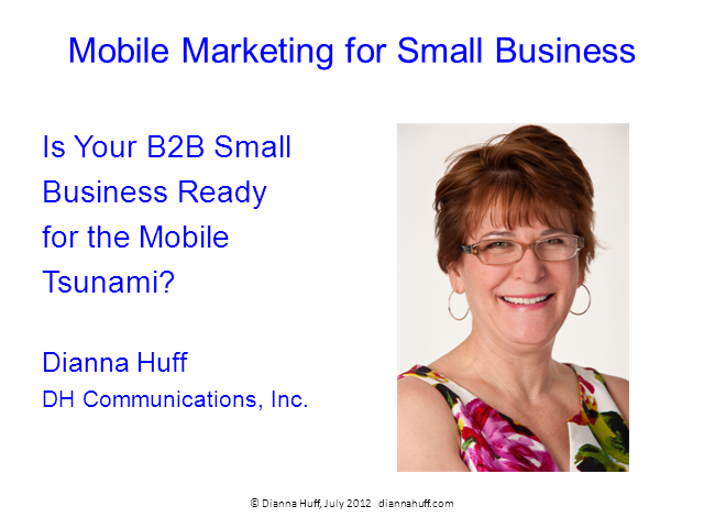 Is your B2B Small Business Site Ready for the Mobile Tsunami?
