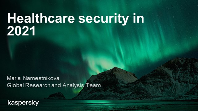 2021 predictions, episode 2: healthcare cyberthreats