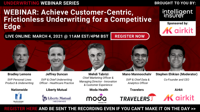Achieve Customer-Centric, Frictionless Underwriting for a Competitive Edge