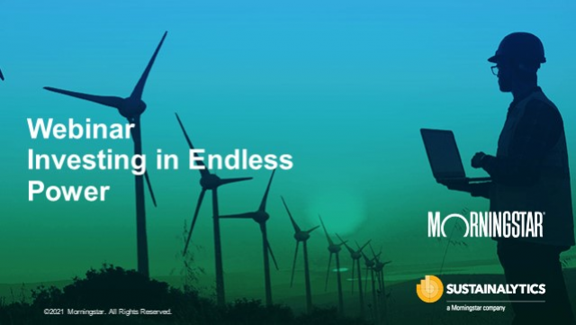 Investing in Endless Power