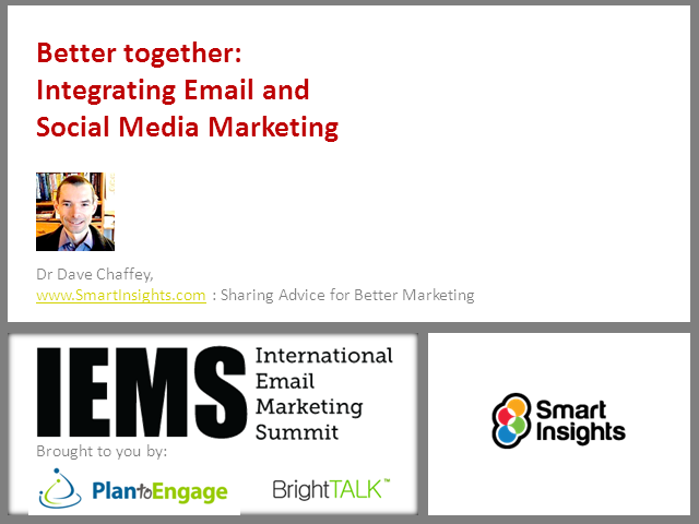 Integrating Email and Social