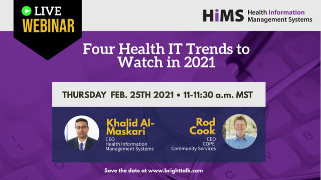 Four Health IT Trends to Watch in 2021