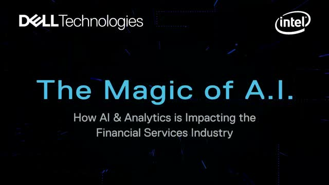 Magic of A.I: How AI & Analytics is Impacting the Financial Services Industry