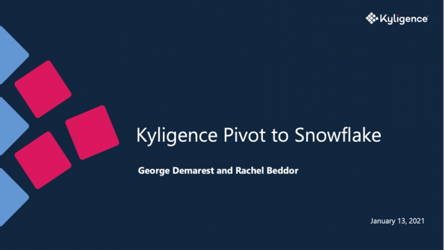 Kyligence Pivot to Snowflake - A Solution for Excel Pivot Tables on Snowflake