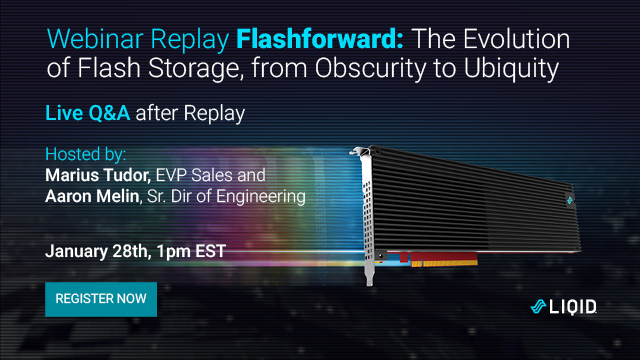 Flashforward: The Evolution of Flash Storage from Obscurity to Ubiquity