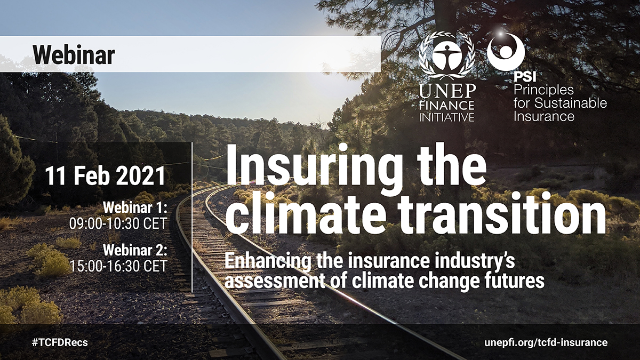 Insuring the climate transition: The final report of UN PSI's TCFD pilot project