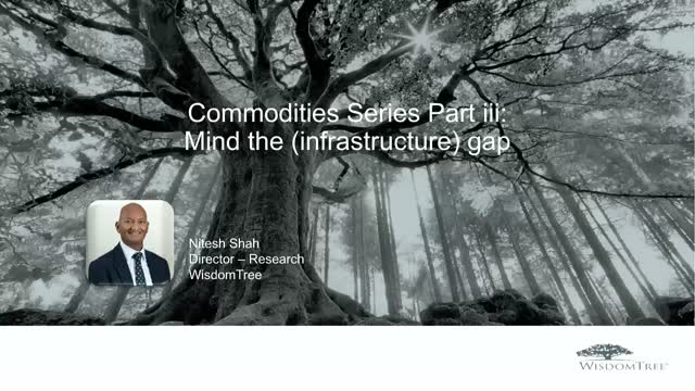 Commodities Series Part iii: Mind the (infrastructure) gap