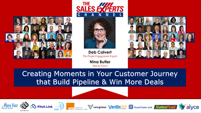 Creating Moments in Your Customer Journey that Build Pipeline & Win More Deals