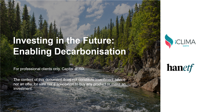 Investing in the Future: Enabling Decarbonisation