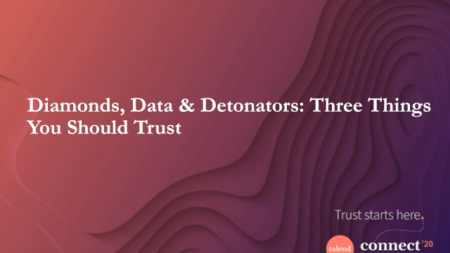 Turning data from liability into opportunity: the path to trusted data