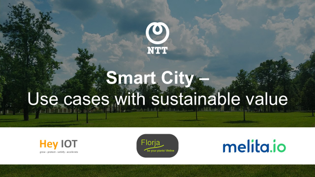 Smart City - Use cases with sustainable value