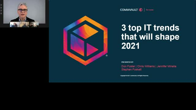3 top IT trends that will shape 2021