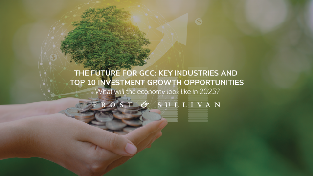 The Future for GCC: Key Industries and Top 10 Investment Growth Opportunities