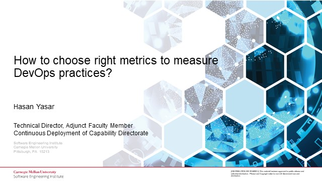 How to choose right metrics to measure DevOps practices?