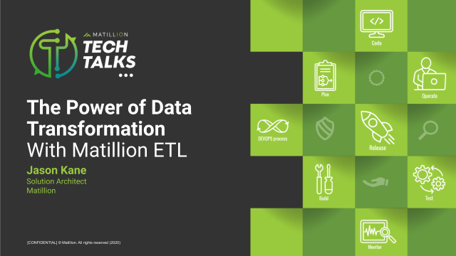 The Power of Data Transformation with Matillion ETL