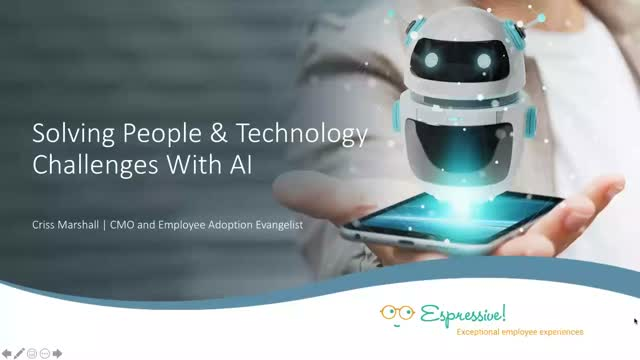 Solving People and Technology Challenges With AI