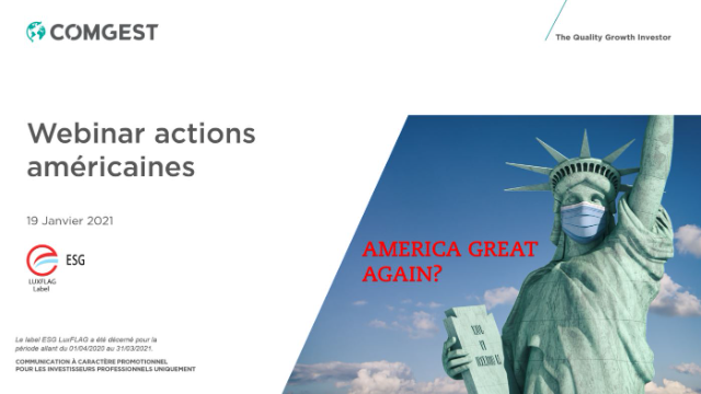 Comgest - actions américaines : America great again?