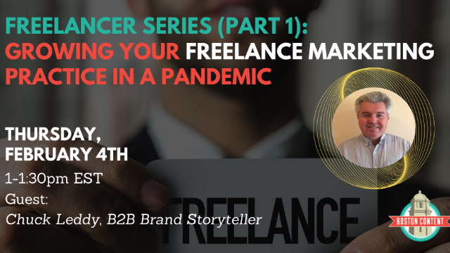 Freelancer Series, Pt 1: Growing your freelance marketing practice in a pandemic