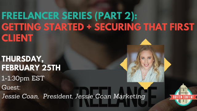 Freelancer Series, Pt.2: Getting started & securing that first client