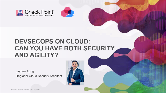 DevSecOps on Cloud: Can You Have Both Security and Agility?