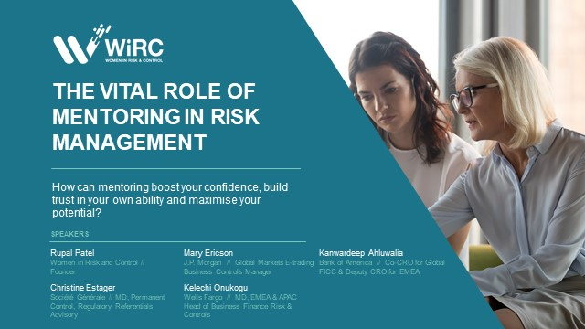 The Vital Role of Mentoring in Risk Management