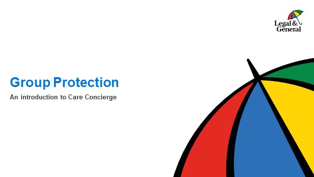 Group Protection Care Concierge launch (Employer edition)