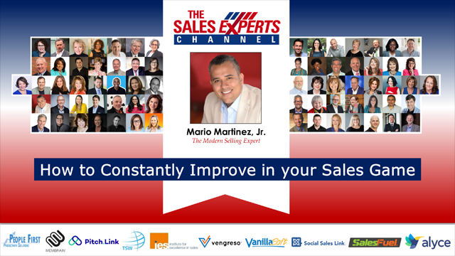 How to Constantly Improve in your Sales Game