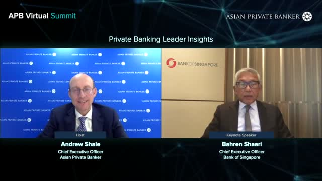 Private Banking Leader Insights: Bahren Shaari, Bank of Singapore