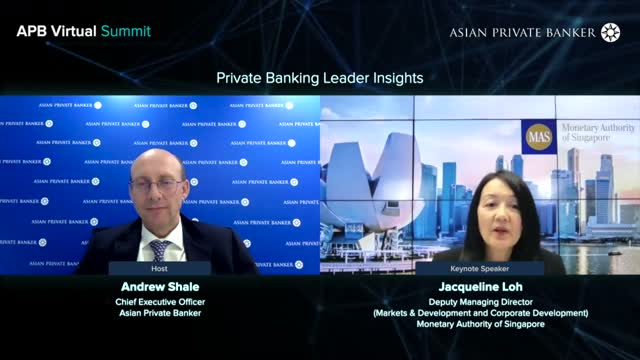Private Banking Leader Insights: Jacqueline Loh, Monetary Authority of Singapore