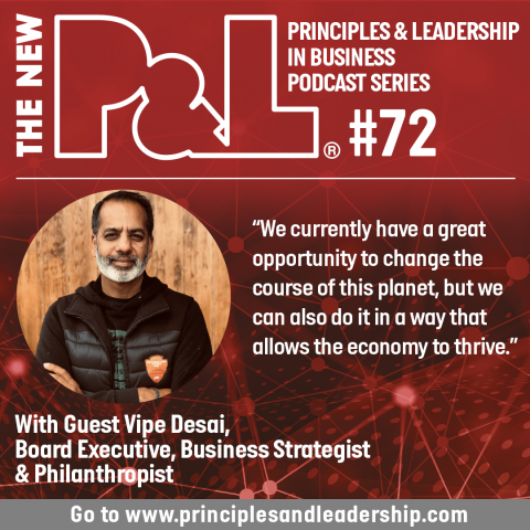 The New P&L speaks to Vipe Desai, Business Strategist, Director, Philanthropist