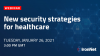 New security strategies for healthcare