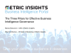 The 3 Pillars of Effective Business Intelligence Governance