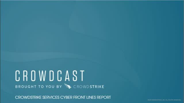 CrowdStrike Services CyberFront Lines Report