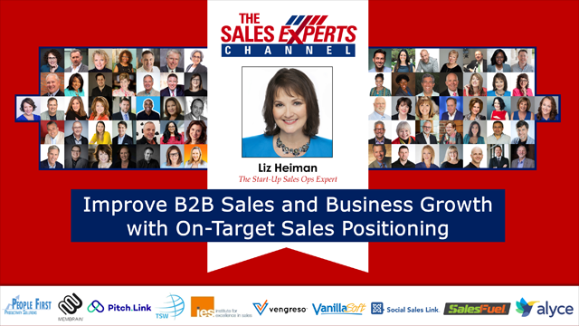 Improve B2B Sales and Business Growth with On-Target Sales Positioning