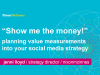 Planning Value Measurements into your Social Media Strategy