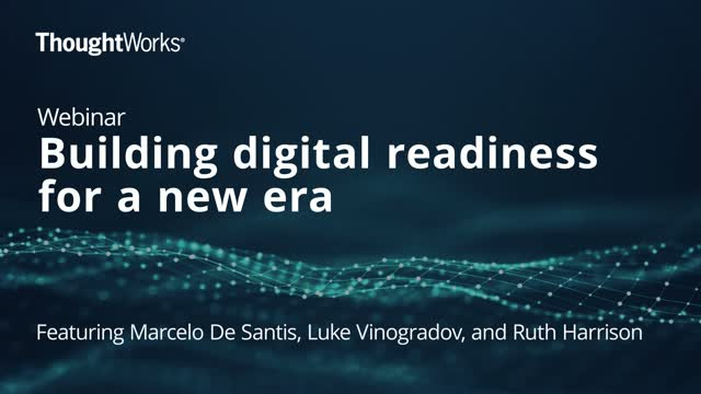 Building Digital Readiness for a New Era