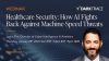 Healthcare Security: How AI Fights Back Against Machine-Speed Threats