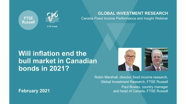 Canadian bond markets 2021: The big questions and risks