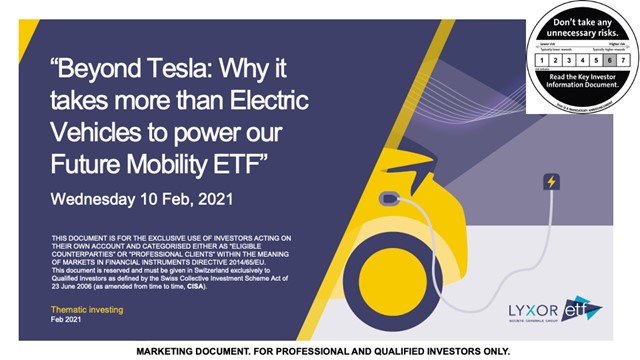 Lyxor ETF Beyond Tesla: Why it takes more than EVs to power Future Mobility [EN]
